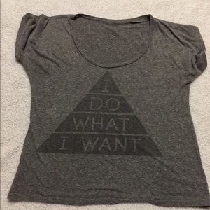 Tops - *SALE* Graphic tee I DO WHAT I WANT